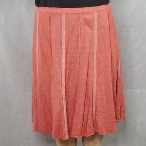 Coral Flare Skirt - Lane Bryant
